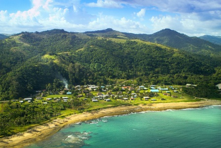 Fiji- Aerial View